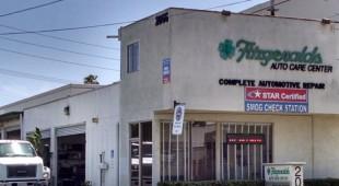 Auto Repair Costa Mesa Fitzgeralds Building